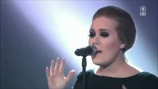 Adele's best live performance of rolling in the deep