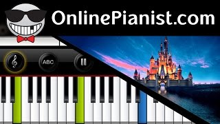 Alan Menken - I See The Light (Tangled / Mandy Moore as Rapunzel) - Piano Tutorial & Sheets Easy