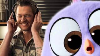 "Blake Shelton ""Friends"" Angry Birds Music Video"
