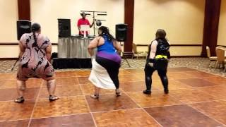 BBW Club Catalina Boo Bash Booty Shaking Contest