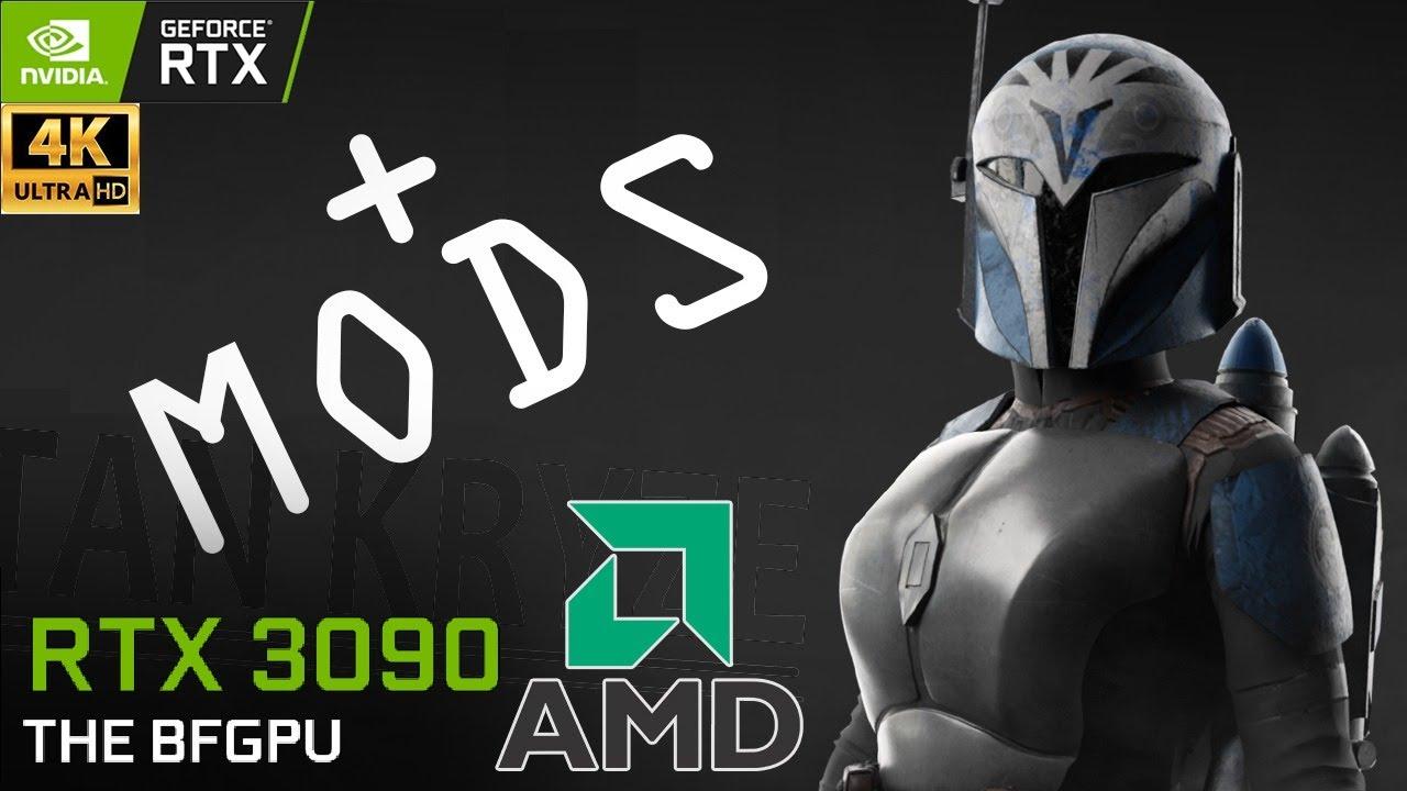 XenthorX - Battlefront 2 : 4K60 Live + Mods   Star Wars   5900X   RTX 3090   Ultra   4K
