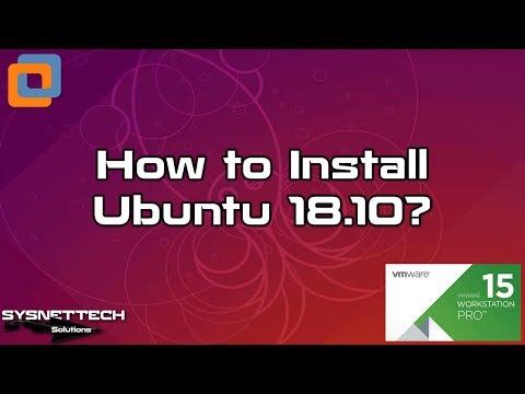 Ubuntu 18.10/19.04 Setup Video
