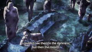 Attack on Titan season 2-ape titan climbing the wall