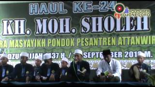 Nurus Syabab Feat Ridwan Asyfie Haul ke 24 KH. Moh. Sholeh PonPes Attanwir Talun Bojonegoro Part 1