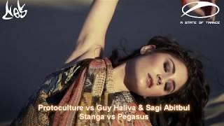 Protoculture vs. Guy Haliva & Sagi Abitbul - Stanga vs. Pegasus [Armin van Buuren Mashup] [ASOT 824]