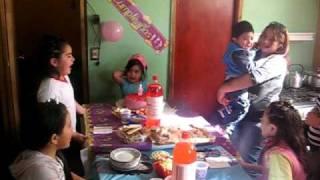 Valentina cumpleaños  oct 2008