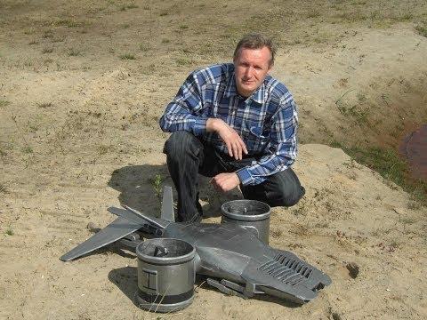 Hunter-Killer aerial Terminator, flying RC Model