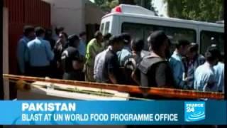 Bomb explosion inside UN office kills three