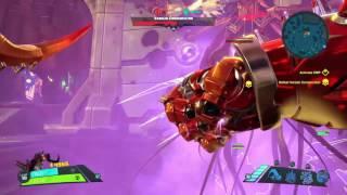 Battleborn: Conservator Boss Fight (Advanced Difficulty)