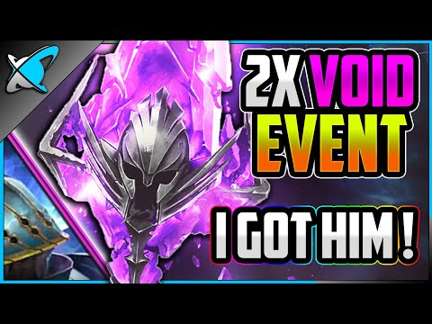 AT LEAST... I GOT HIM !! | 2X Void Event + Viewer Summons | RAID: Shadow Legends