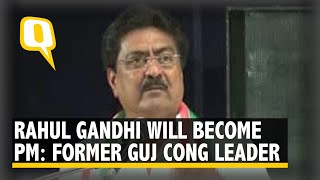 Indranil Rajyaguru Quit Congress But Still Bats for Rahul Gandhi I The Quint