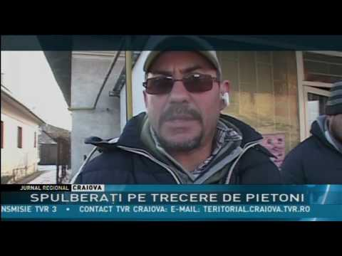 SPULBERAŢI DE PE TRECEREA DE PIETONI!