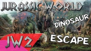 Jurassic World Dinosaur Escape - Music Video | Song by Mattel Action!