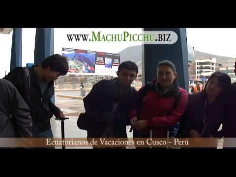 Elsa Diaz, Ecuatorianos de vacaciones con Machu Picchu Travel