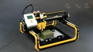 LEGO 3D Milling Machine AMAZING!