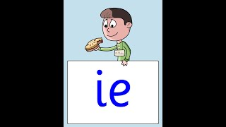 Mr McKie's Pie: ie digraph by phab fonics