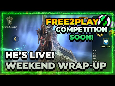 Weekend Wrap-Up! f2p Competition SOON! | RAID Shadow Legends
