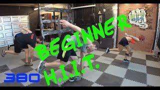 LIVE Beginner Bodyweight H.I.I.T. Workout