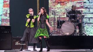 Eldrine - One More Day (Georgia) - Live - 2011 Eurovision Song Contest Final