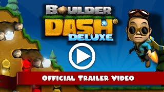 Boulder Dash Deluxe Smashes Its Way Onto Switch This Week