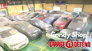 10s of Nissan Skyline GTR R34s for sale! - Garage Defend!