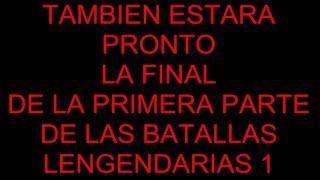 BATALLAS DE RAP LEGENDARIAS 2 EL 22 DE ENERO MC LANCER 2016