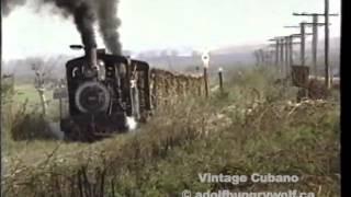 Cuba narrow gauge railroad in 1996