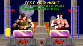 Mortal Kombat 1 (1992) - Test Your Might [all trials]