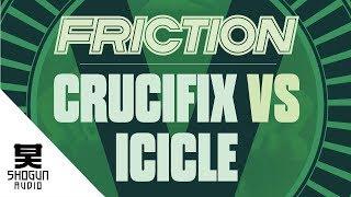 Friction Vs. Icicle - Crucifix