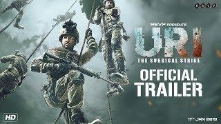 URI | Official Trailer | Vicky Kaushal, Yami Gautam, Paresh Rawal | Aditya Dhar | 11th Jan 2019