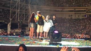 Duplo Pedido de Casamento  - Coldplay Live in São Paulo 2016