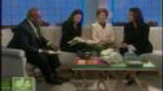 TODAY SHOW: First Lady Laura Bush & Robin Wilson on Green design