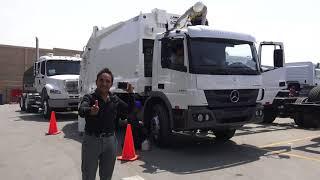 Visita a Carros Compactadores de Basura que llegarán a Nuevo Chimbote