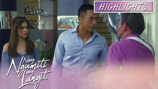 Anna hears the quarrel of James and David | Nang Ngumiti Ang Langit