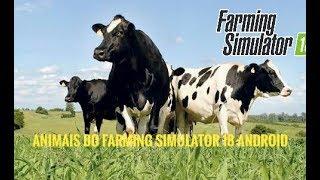 Animais do Farming Simulator 18 Android