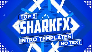Top 5 Sharkfx Intro Template (No Text) | Top 5 2d Intro Template No Text