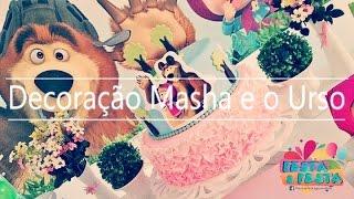 Festa & Festa - Decoração Masha e o Urso