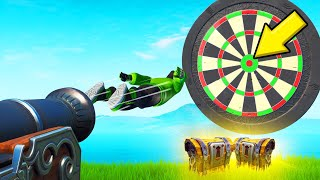 Hit The BULLSEYE To WIN LEGENDARY LOOT! (*NEW* Fortnite Darts)