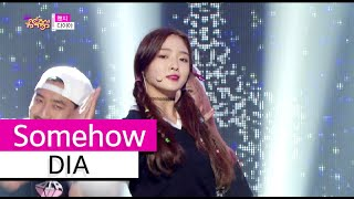 [HOT] DIA - Somehow, 다이아 - 왠지, Show Music core 20150926