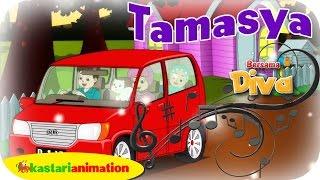 TAMASYA   Nyanyian Anak Islam bersama Diva   Lagu Anak Indonesia HD   Kastari Animation Official