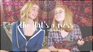 The Flat's A Mess - Dodie Clark cover | Abbie Bosworth (ft. Caroline Poe)