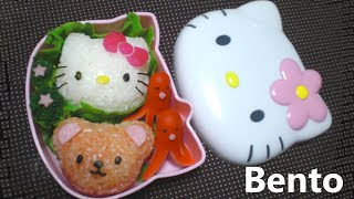 Hello Kitty Onigiri Bento