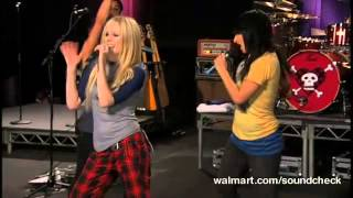 Avril Lavigne - I Can Do Better @ Live at Walmart Soundcheck 20/04/2007