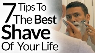7 Steps To Best Shave of Your Life | Barbershop Quality Shave At Home | Shaving Tutorial OneBlade width=