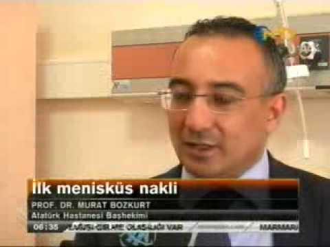Kadavradan menisküs Nakli Dünyada İlk | NTV