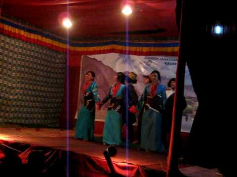 Dance performance at Kagbeni 2/  Tibetan Folk