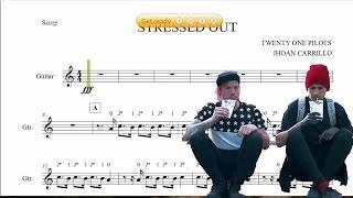 Twenty one pilots: Stressed Out - Violín-Guitarra, Partitura.