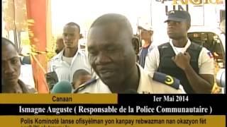 Polis Kominotè lanse ofisyèlman yon kanpay rebwazman nan okazyon fèt agrikilti ak travay la