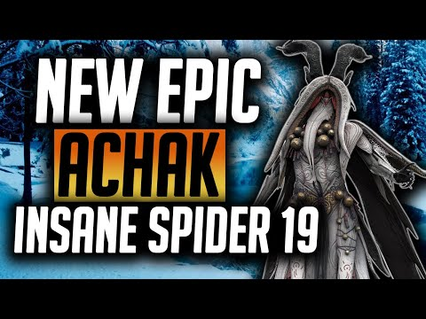 Achak the Wendarin Guide | Best Spider 19 epic in the game!! | Raid: Shadow Legends
