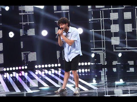 Compoziție proprie. Vezi interpretarea lui Ioan Iulian, la X Factor!
